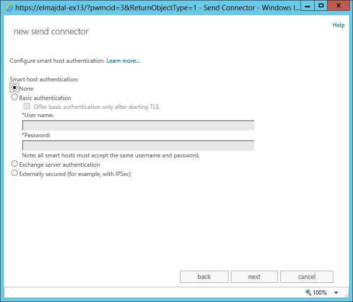 How To Create an Outbound Send Connector In Exchange Server 2013