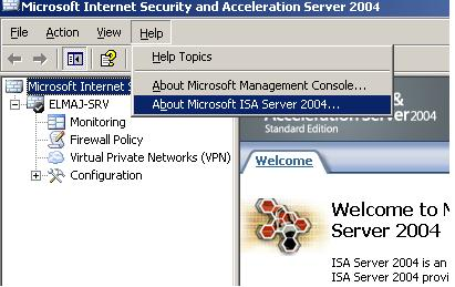 Microsoft internet security and acceleration server 2006 standard.