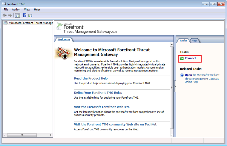 How To Manage Forefront Tmg 2010 Remotely From A 32 Bit Client Technet Articles United States English Technet Wiki