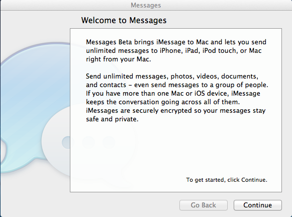 how to open messages on imac