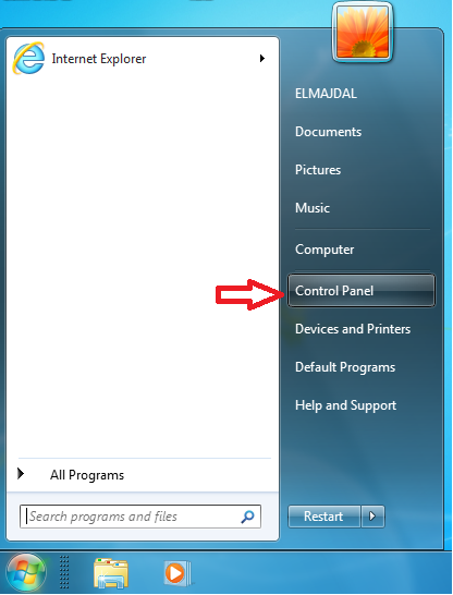 how to find a new user on windows 7