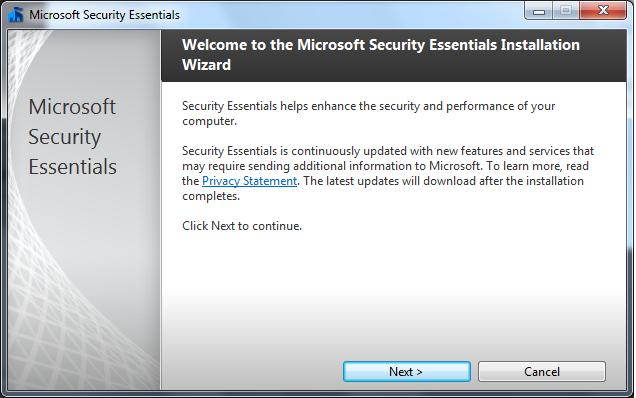 microsoft security essential antivirus software free download for windows xp