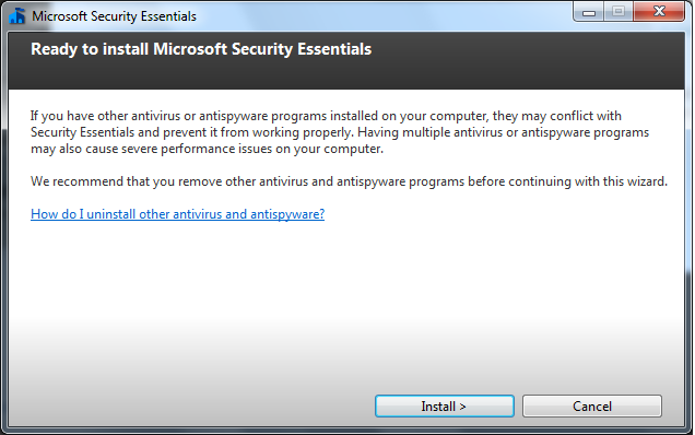 How To Manually Update Microsoft Security Essentials - YouTube