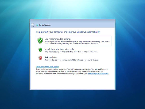 Installing Windows 7 From a USB Stick
