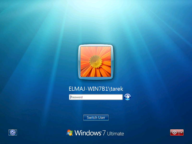 windows 7 вход в систему