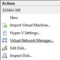 Enabling Wireless Network for a Hyper-V Virtual Machine