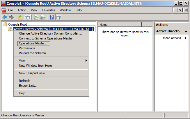 Transferring fsmo roles in windows server 2008 technet articles united states english - Console active directory ...