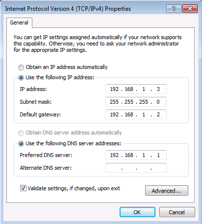 Joining Windows 7 to a Domain